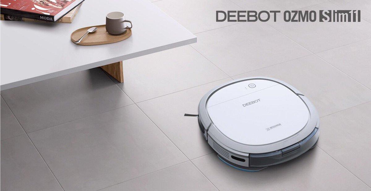 床用ロボット掃除機、エコバックス(ECOVACS)「DEEBOT Slim11」