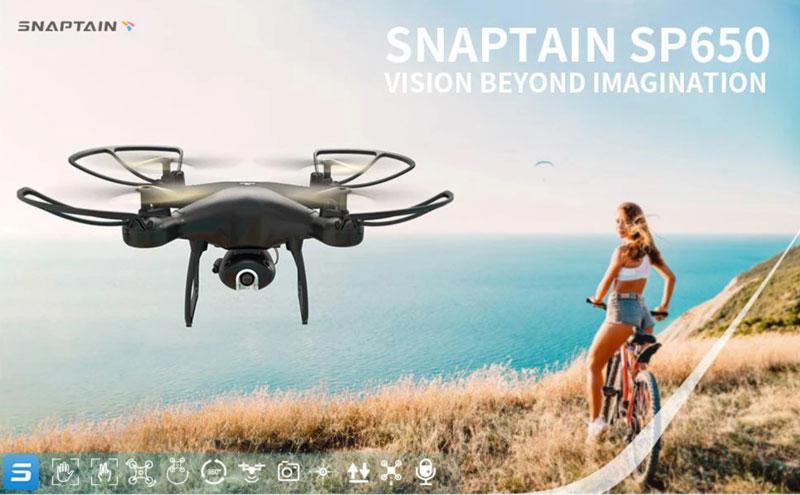 小型ドローンSP650 メーカー:スナップテイン(SNAPTAIN)