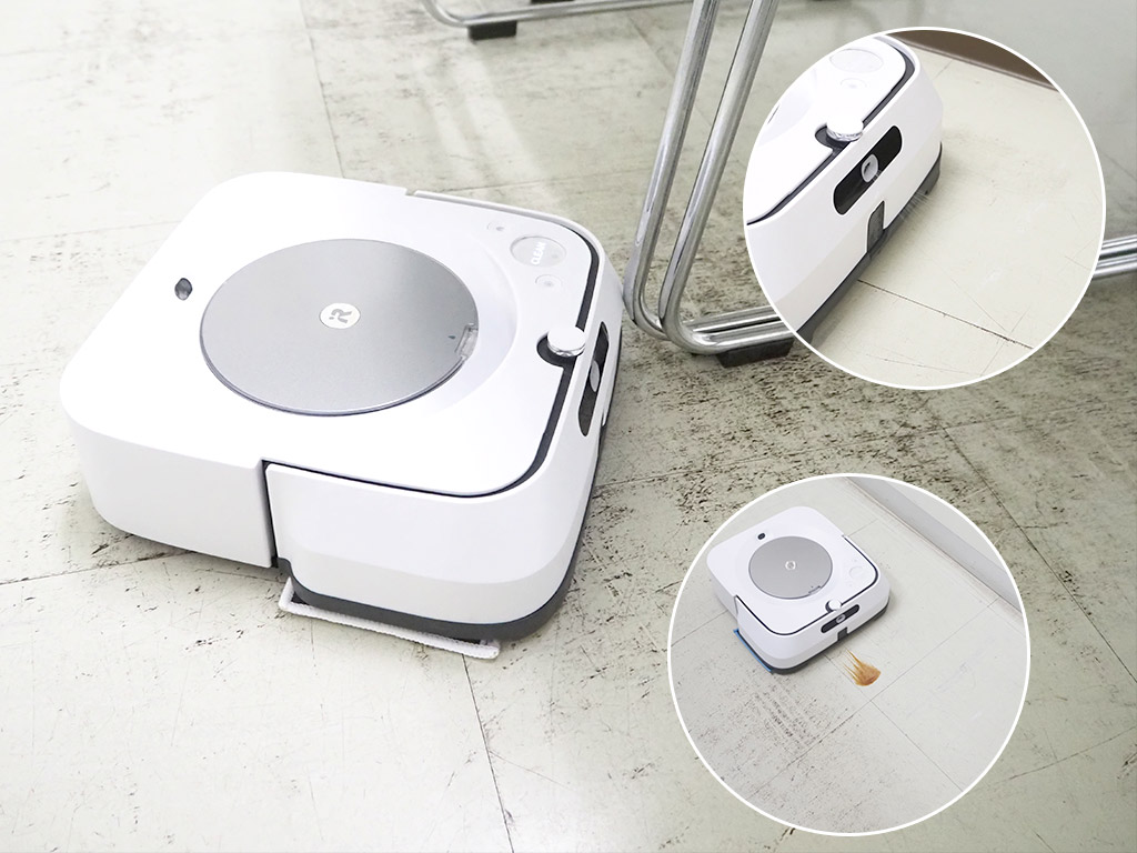 iRobot「ブラーバ ジェットm6 m613860」 ルンバと連携できるiRobotの床拭きロボット