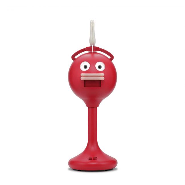 ビッグクラッピーは、独自に設計した柔らかい手でパチパチ拍手し、コミカルな声がけを行うことで人の注目を集め、様々な場面で集客、広告、盛り上げに一役買うロボットです。