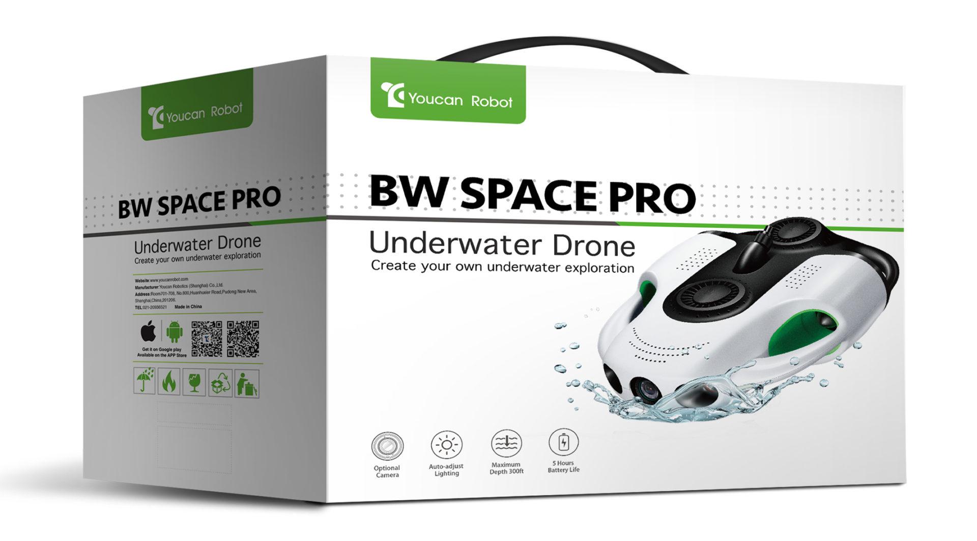 BW Space Pro 4Kモデル、パッケージ