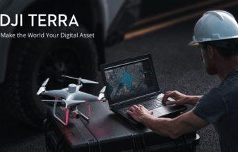 DJI、ドローンデータを分析するDJI Terraの永久ライセンスを発表。3Dモデリングとマッピングソフトウェアで、ドローンデータをデジタル資産に