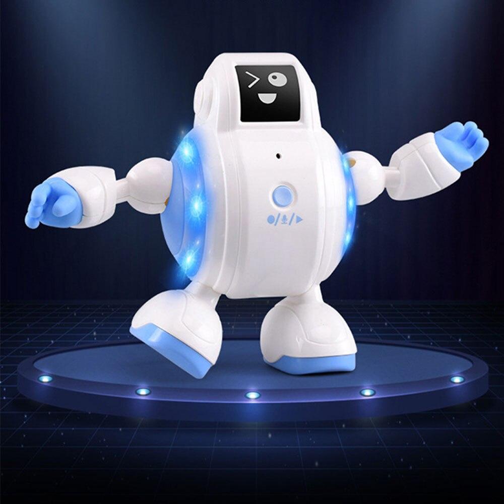 マジックボイスロボット、おなかに触れるとノリのいい8曲の音楽を高音質で再生します。