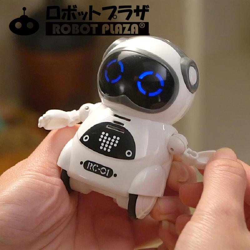 ポケットロボット「Pocket Robot」、手のひらに乗せたり、ポケットに入れていつも一緒に、可愛いコミュニケーションロボット(英語のみ)が登場。とてもスマート。