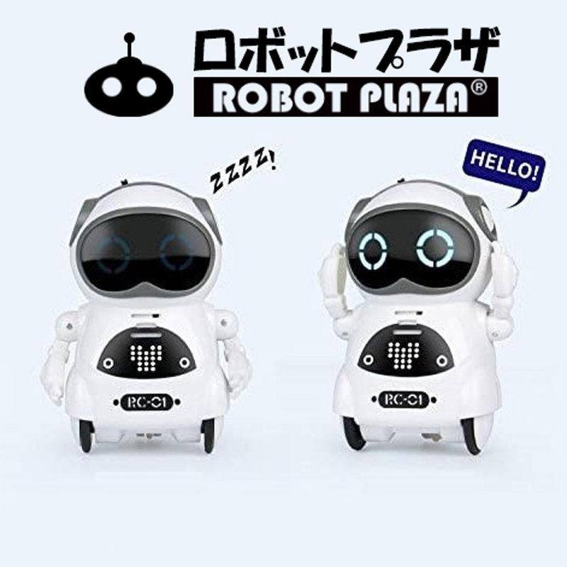 ポケットロボット「Pocket Robot」、英語のみですが、話し掛けたり、呼んだりすると、質問に答えたり、ストーリーを教えてくれます。話しながらいいお友達になります。