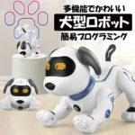 犬型ロボット ロボット 犬 スタントドッグ (STUNT DOG)、誰でもすぐに操作、遊べる犬型ロボットおもちゃです。インテリジェントで子供にも魅力的です。屋内と屋外で遊ぶおもちゃとして最適です。