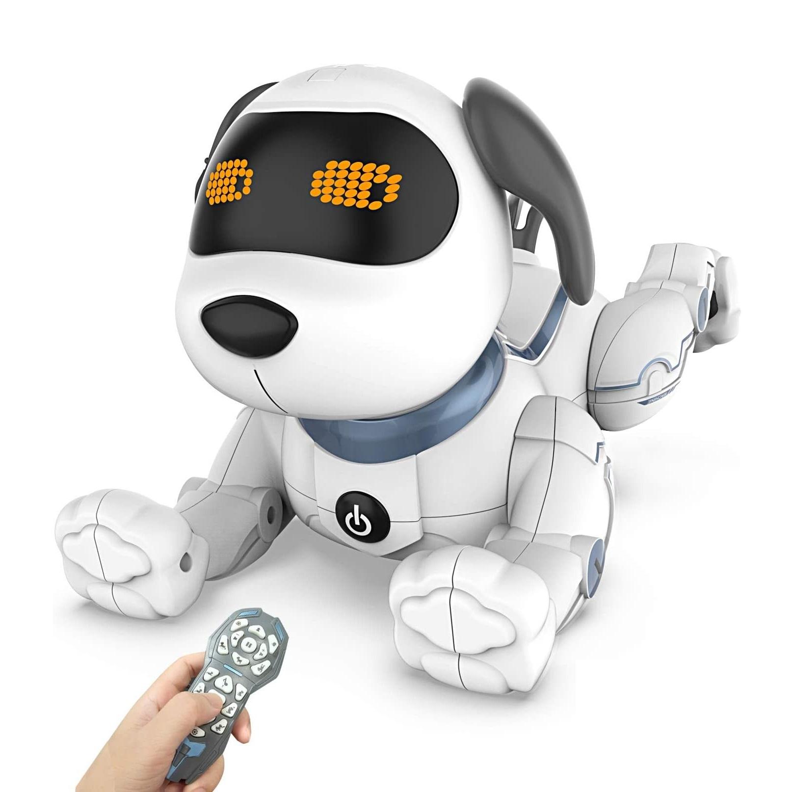 犬型ロボット スタントドッグ (STUNT DOG) はコントローラーで楽しく遊ぼう