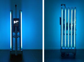 「殺菌ロボット」の実証実験を新型コロナウイルス感染症の軽症者等の宿泊療養施設にて実施