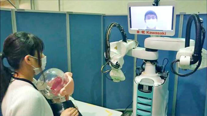 PCR検査ロボット