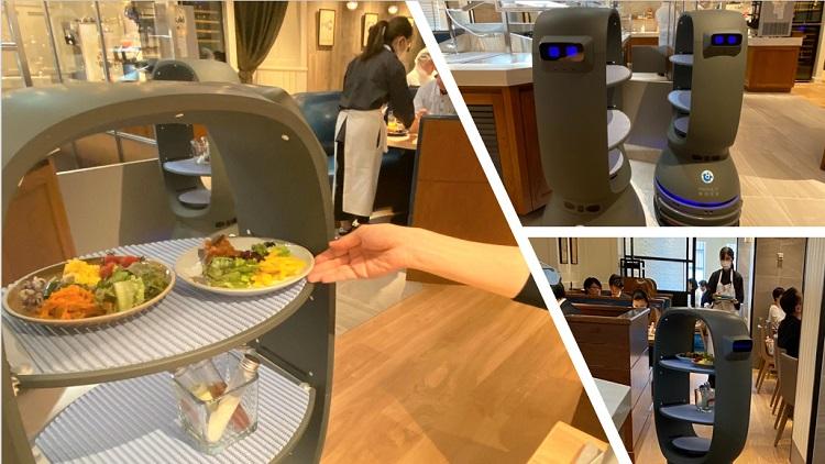 QBIT Roboticsの自動搬送ロボット