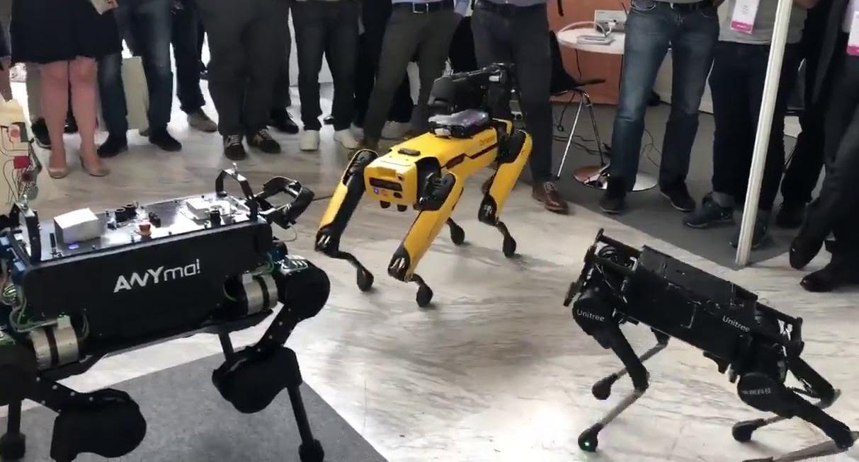 近未来的な容姿を持つロボット犬は、荷物の運送、ペットとしてのリラックス効果、危険地帯作業、災害現場救助など様々な用途が期待され、世界各地で開発が急速に進められています。