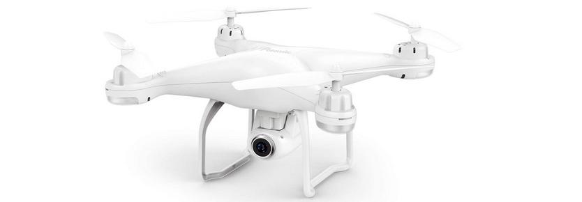 ドローン Potensic GPS搭載 1080P 120°広角カメラ付き HD 200g未満 リアタイム転送 高度・座標ホバリング・フォローミーモード・オートリターンモード バッテリー2個 収納ボックス付き 国内認証済み T25全能版