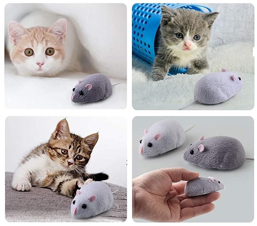 きまぐれねずみ、猫ちゃんお友達、運動不足解消、健康促進に役立つ