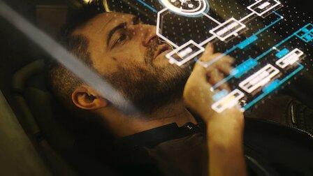 実写顔負けの美麗CGで描くSFホラー『わし座領域のかなた』。「ラブ、デス&ロボット」の作品群の中でも、最も映像面でインパクトがある一作。