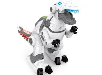 恐竜型ロボット【T-REX】(ティーレックス)の顔、背中、尻尾などディテールにこだわった格好良いデザインで大人気です。
