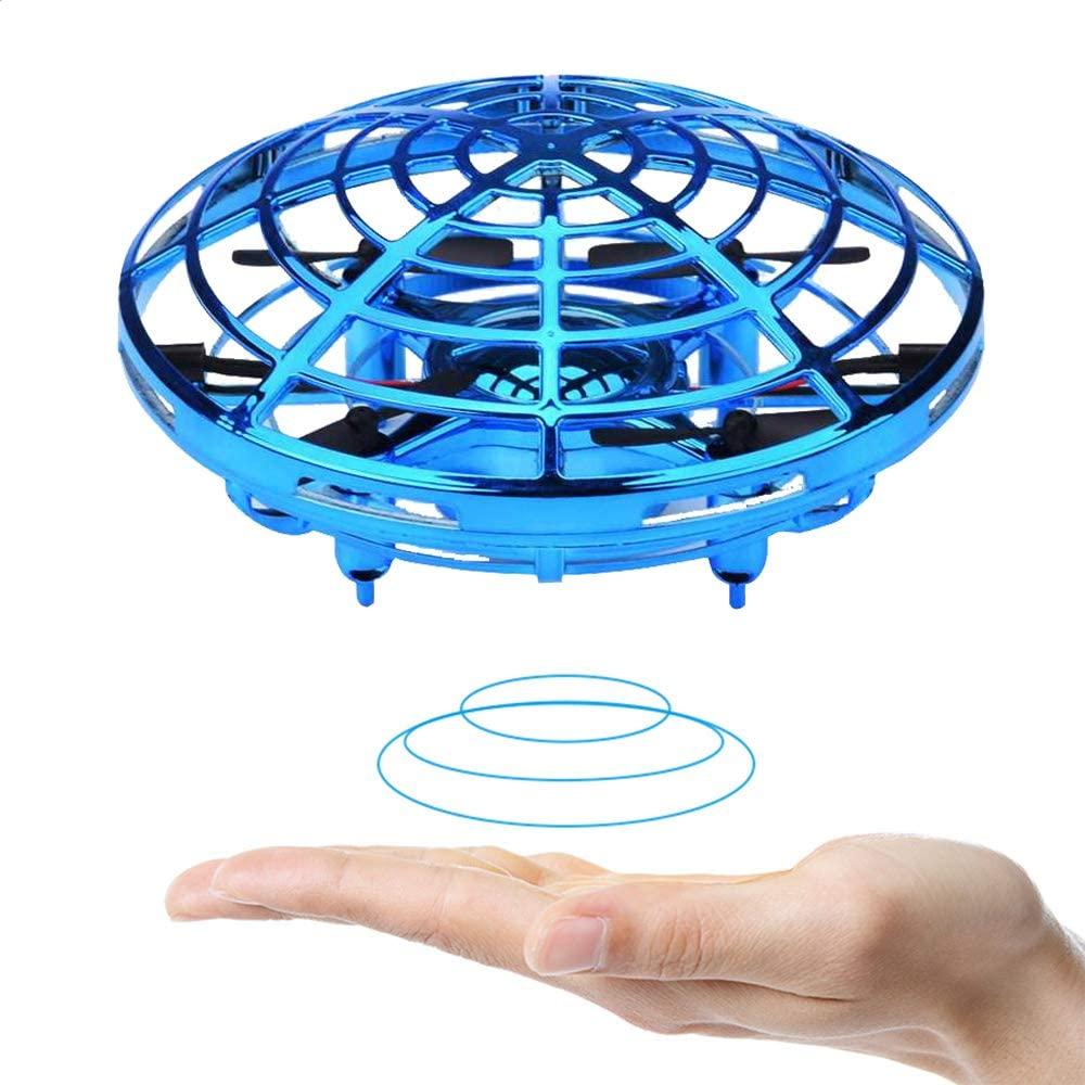 UFO Drone(UFOドローン)強風、強い光、狭い空間、乱雑な環境での使用はお避け下さい。プロペラガード内に指や髪の毛が入らないようにしてください。危険です。