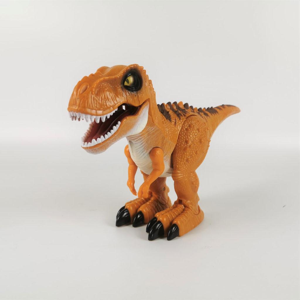 ラジコンの恐竜ロボット「RCディノ」 迫力 先史時代の生き物、ティラノザウルスが咆哮しながら歩き回ります。ジュラシック・ワールドの世界へようこそ。
