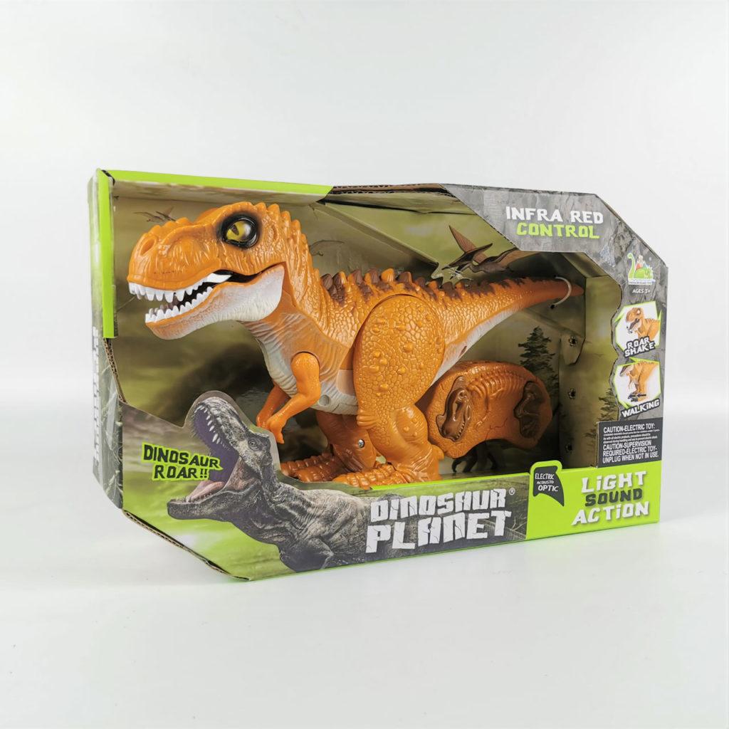 ラジコンの恐竜ロボット「RCディノ」説明と仕様