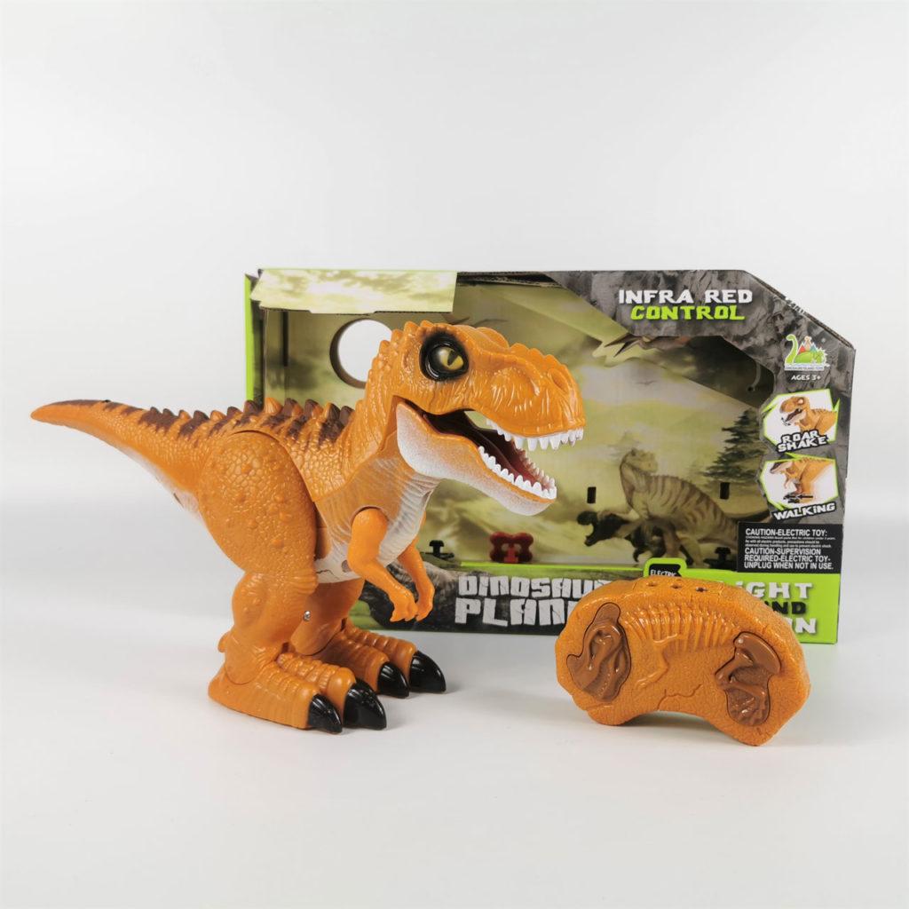 ラジコンの恐竜ロボット「RCディノ」。プレゼントに最適 誕生日、クリスマス、七五三、入園祝い、子供の日、休日、その他様々なシーンに良いギフト。男の子も女の子も、お子様にきっと喜ばれます。ご家族やお孫様への贈り物としても最高。