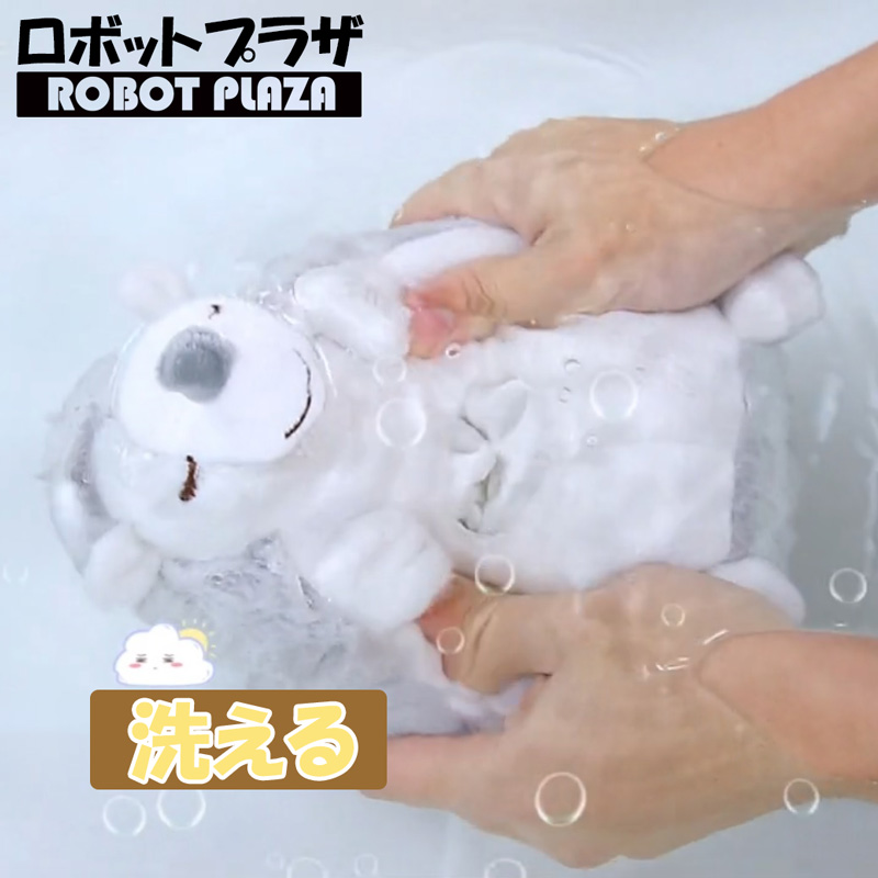 寝かしつけ ぬいぐるみ おもちゃ ハリネズミ、音声ライトユニットを取り外し、ぬいぐるみ本体は洗濯できます。