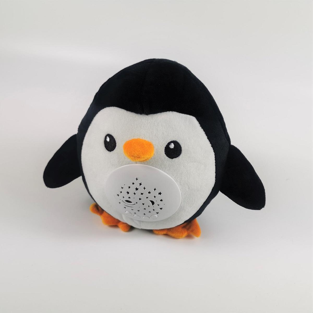 寝かしつけ ぬいぐるみ おもちゃ ペンギン 音声ライトユニットを取り外して、ぬいぐるみとしてもお使いいただけます。可愛くて、ねむねむ顔をしているペンギンです。抱っこしたら癒されます。