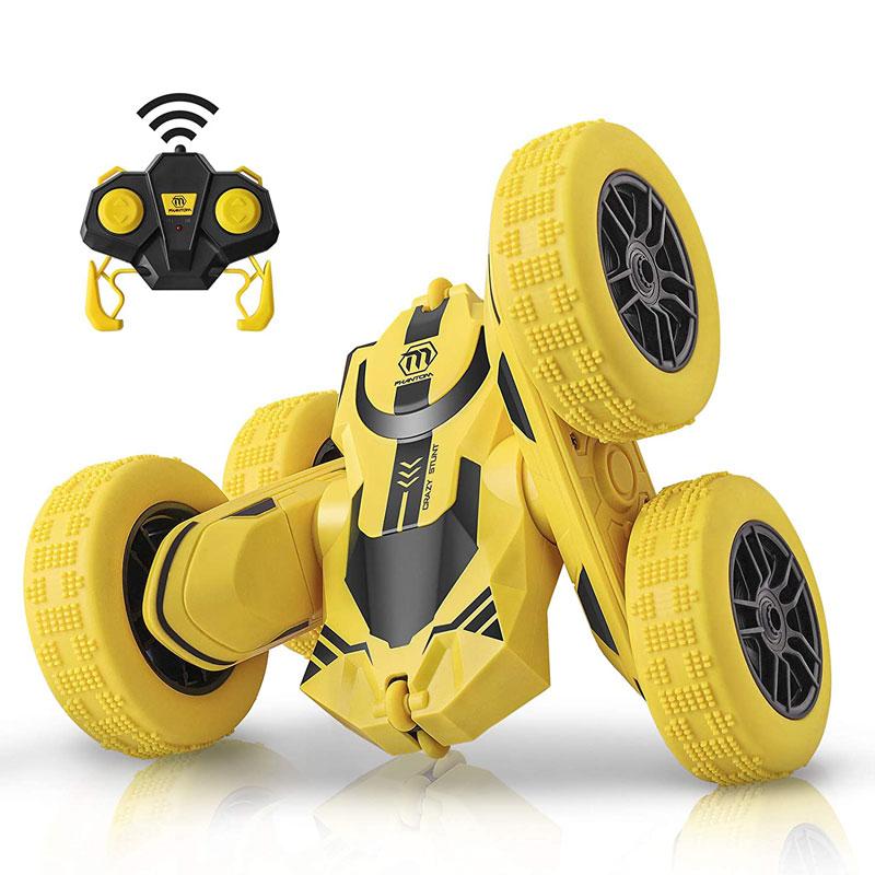 四輪駆動で両面運転と360度回転ができるラジコンカー登場!走行性能抜群で様々な地形に対応。ひっくり返っても走り続ける。ゴム製タイヤは柔軟で耐衝撃、室内でも室外でも遊べる。かっこいいデザインで子供から大人まで楽しめる、プレゼントに最適です。