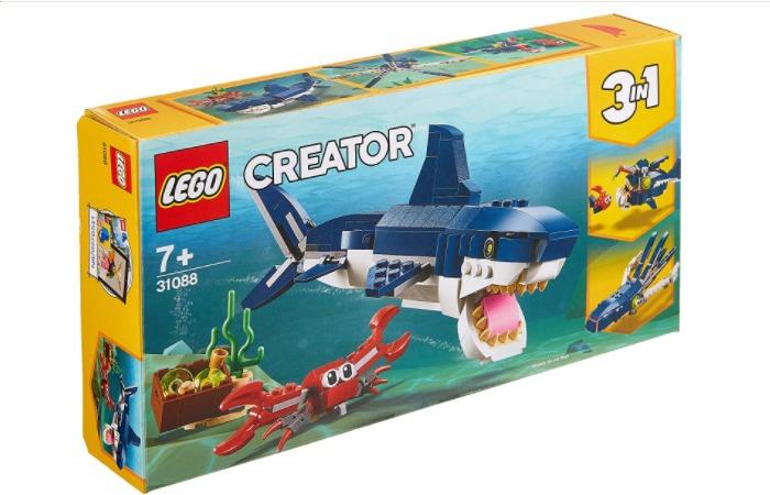 レゴ,クリエイター,深海生物