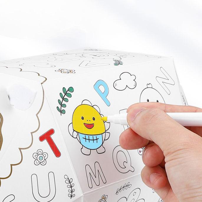 簡単に組み立てて色も塗れる、子供に大人気の立体塗り絵シリーズ。ペン付属ですぐに色塗りができて自分だけのオリジナル紙工作作品に仕上げます。親子で一緒に協力し合いながら完成させた作品はかわいいインテリアとして楽しめます。プレゼントにも最適。